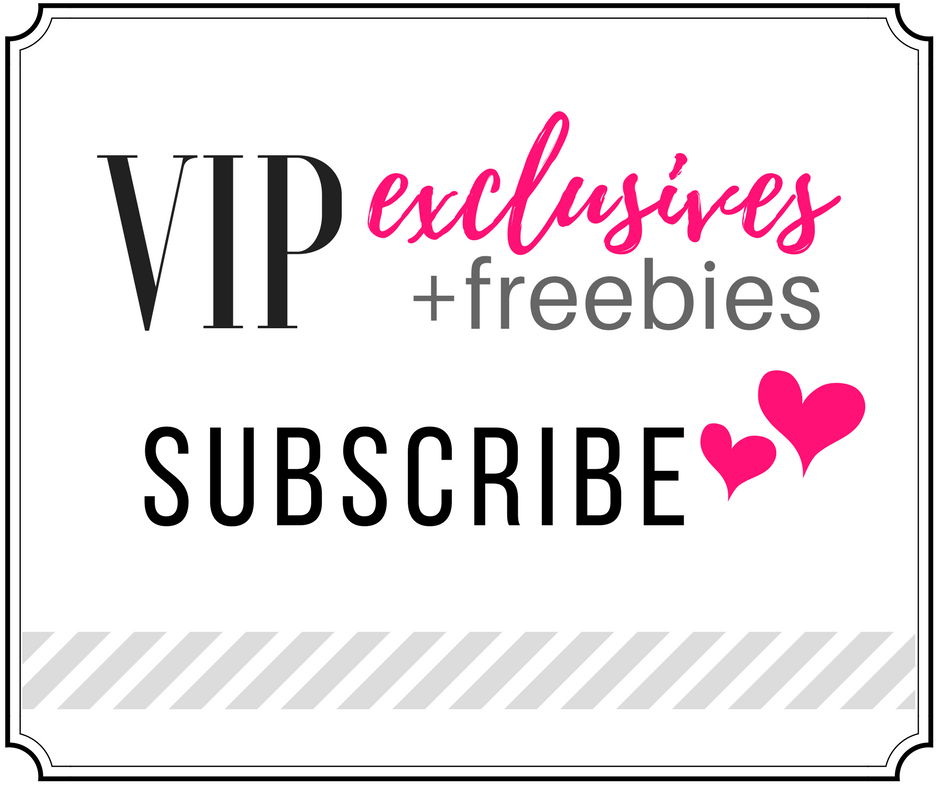 Subscribe for VIP access to exclusive printables and freebies from SRL